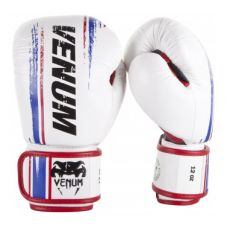 Боксерские перчатки  VENUM BANGKOK SPIRIT BOXING GLOVES - NAPPA LEATHER - WHITE